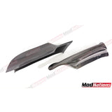 BMW 3 SERIES E90 PRE LCI M TECH STYLE FRONT SPLITTER 2006-2009