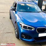 BMW 1 SERIES F20 F21 LCI MODNATIONS CARBON FIBRE FRONT LIP