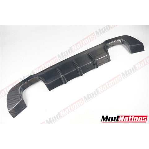BMW E92/3 MSPORT CARBON DIFFUSER QUAD TIPS 2007-2013