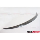 BMW 5 SERIES SALOON F10 M5 TYPE CARBON SPOILER 2010-2016
