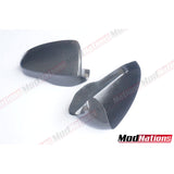 BMW M5 F10 CARBON MIRROR COVERS