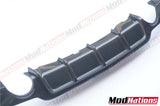 BMW 4 Series F32 F33 F36 M PERFORMANCE STYLE CARBON FIBRE DIFFUSER