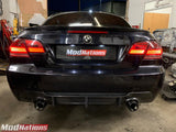 BMW 3 SERIES E93 M4 LOW KICK CARBON FIBRE SPOILER