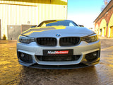 BMW 4 SERIES F32 F33 F36 M PERFORMANCE STYLE CARBON FIBRE FRONT LIP