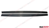 BMW M3 M4 F80 F82 F83 M PERFORMANCE CARBON FIBRE SIDE SKIRT EXTENSIONS