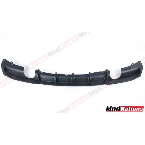 BMW 3 SERIES F30 MPERFORMANCE STYLE GEL COAT BLACK DIFFUSER (C)  2013+