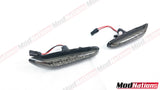 BMW E60 E81 E82 E83 E87 E90 E91 E92 E93 SMOKED LED SIDE INDICATORS