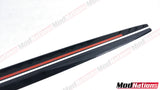 BMW 3 SERIES E92 E93 GLOSS BLACK SIDE SKIRT EXTENSIONS (ABS)