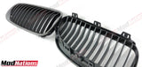 BMW 3 SERIES E92 LCI PERFORMANCE BLACK CARBON FIBRE GRILLS