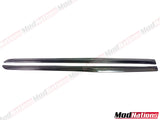 MERCEDEZ C63 A205 C205 W205 CARBON FIBRE SIDE SKIRT EXTENSIONS