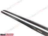 MERCEDEZ C CLASS A205 C205 CARBON FIBRE SIDE SKIRT EXTENSIONS (2016+)