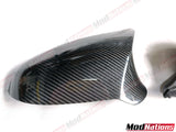 BMW M2C M3 M4 F80 F82 F83 F87 CARBON FIBRE MIRROR REPLACEMENTS