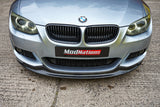 BMW 3 SERIES E92 E93 LCI GLOSS BLACK FRONT GRILLES (SINGLE SLAT)