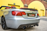 bmw-e92-e93-m-sport-vorsteiner-carbon-fibre-diffuser-on-car