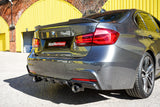 BMW 3 SERIES F30 M PERFORMANCE STYLE CARBON FIBRE DIFFUSER