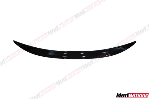 BMW 5 SERIES F10 M PERFORMANCE STYLE GLOSS BLACK SPOILER