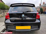BMW 1 SERIES E81/E87 AC STYLE REAR TRUNK LIP SPOILER CARBON FIBRE 2004-2011