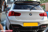 BMW 1 SERIES F20/F21 AC REAR TRUNK LIP CARBON FIBRE SPOILER 2012+