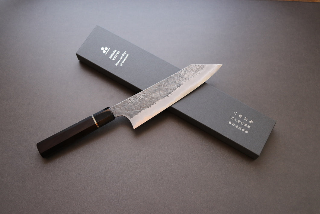 Nigara Tsuchime SG2 Bunka 180mm - The Cook's Edge