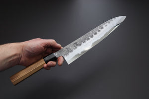 Hatsukokoro Inazuma AS Damascus Gyuto 240mm - The Cook's Edge
