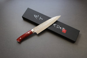 Takeshi Saji Tsuchime VG10 Gyuto 180mm - The Cook's Edge
