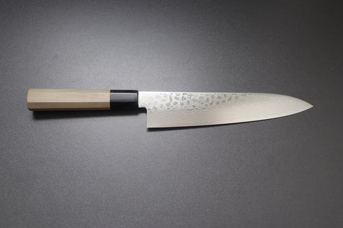 ZAD 69 layer damascus gyuto 210mm - The Cook's Edge