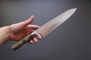 Takeshi Saji R2 Quince Handle Gyuto 240mm - The Cook's Edge