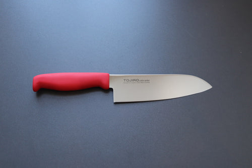 Tojiro colour series santoku 170mm - The Cook's Edge