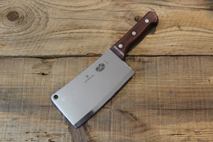 VICTORINOX ROSEWOOD HANDLE CLEAVER 180MM - The Cook's Edge