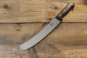 VICTORINOX ROSEWOOD HANDLE SCIMITAR 300MM - The Cook's Edge