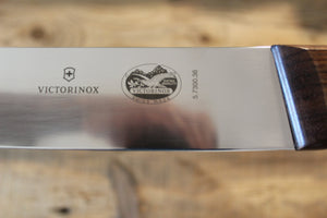 VICTORINOX ROSEWOOD HANDLE SCIMITAR 350MM