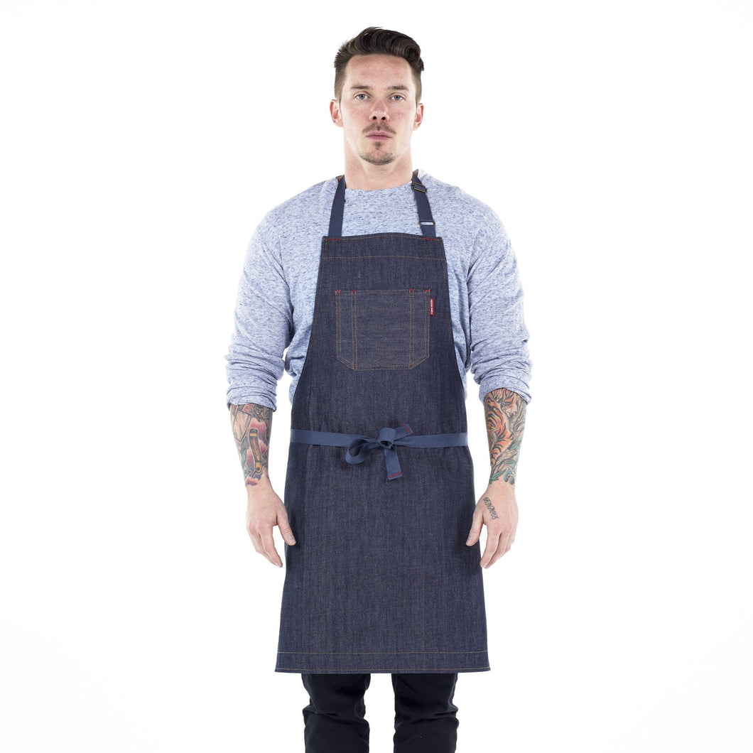 Freddy-Indigo raw selveged denim - The Cook's Edge