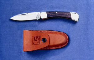 Grohmann DH Russell lock blade w/rosewood handle - The Cook's Edge