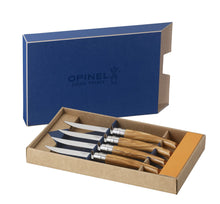Load image into Gallery viewer, Opinel ash wood steak knives - The Cook's Edge