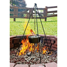 "Load image into Gallery viewer, Lodge campfire tripod 60"" - The Cook's Edge"