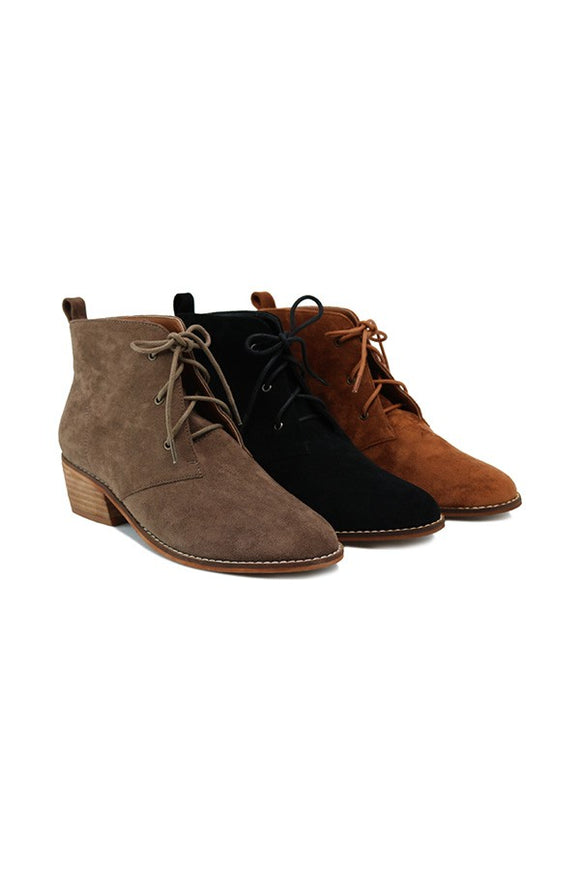 Everyday Taupe Booties FINAL SALE