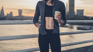 black coffee and workout