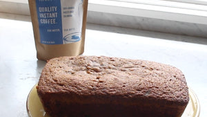 coffee bread with instant coffee