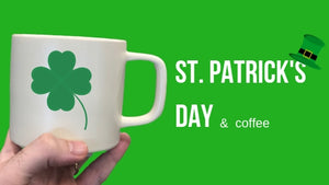 st patrick's day and instant coffee