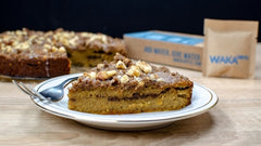 Seasonal Pumpkin Cinnamon Streusel Coffee Cake Recipe