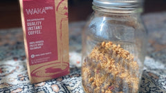 Coconut Instant Coffee Granola