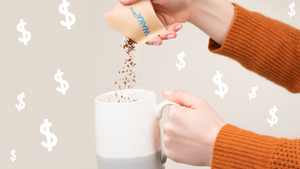 save money on coffee with instant coffee