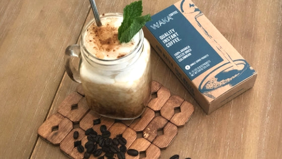 The Best Mint Mojito Iced Instant Coffee Recipe