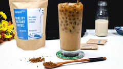 Instant Coffee Ice Latte Recipe