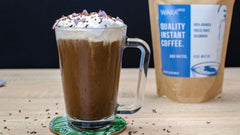 How to Make a Peppermint Mocha With Instant Coffee