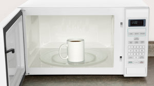 should you warm your cup of coffee in the microwave