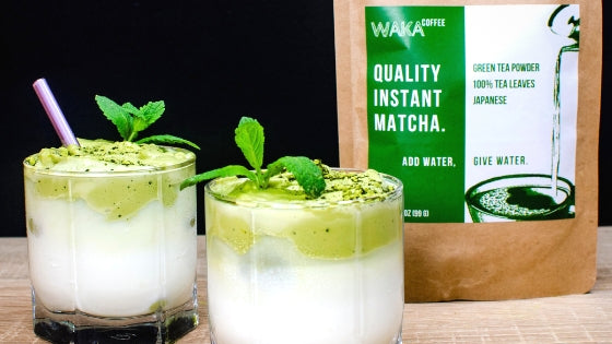 Follow the Trend: Now You Can Make Dalgona-Style Instant Matcha