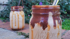 The Perfect Coffee Peanut-Butter-Nutella-Caramel Freakshake Recipe
