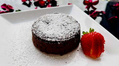 Easy One Bowl Molten Lava Cake With Instant Coffee