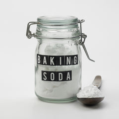 use baking soda to get rid of coffee stains